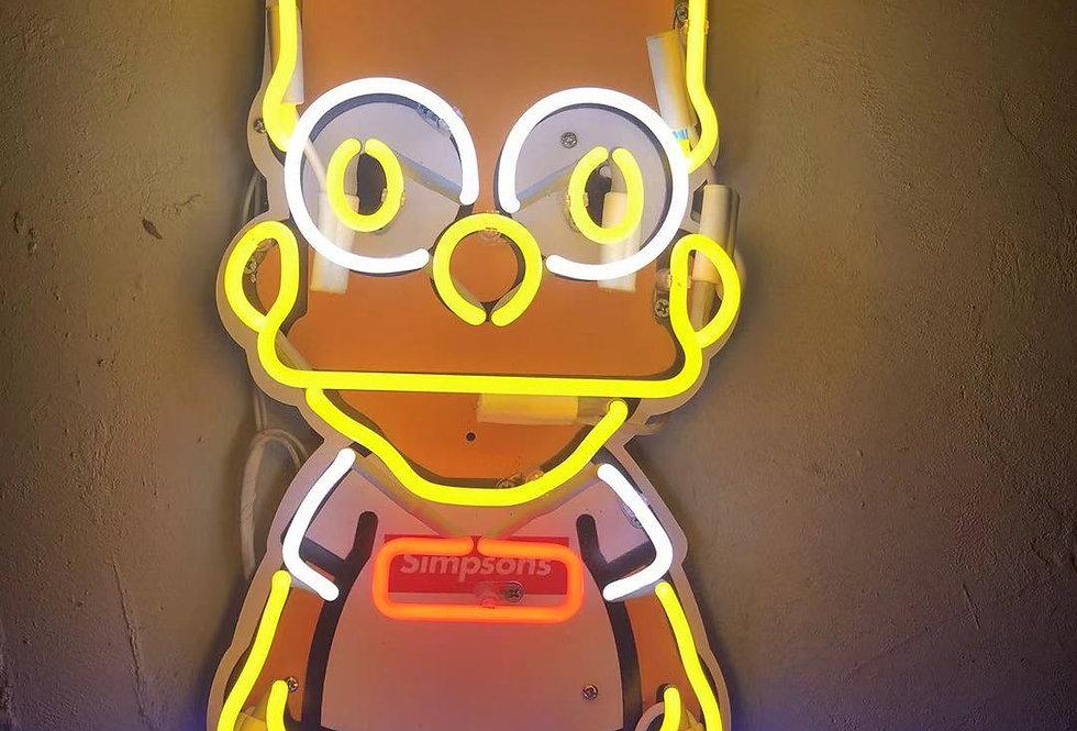 Simpsons Neon Sign