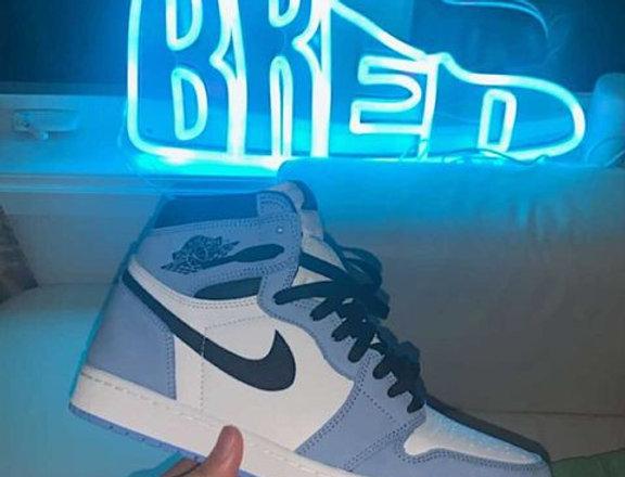 BRED SHOE  Custom Neon  Wall Art Sign🇨🇦