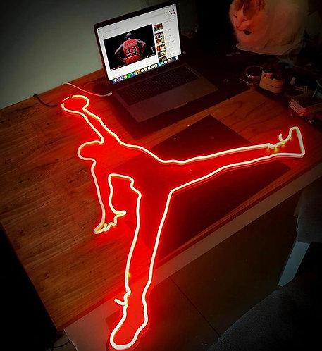 Air Jordan Logo Neon Sign 55 cm | Jumpman