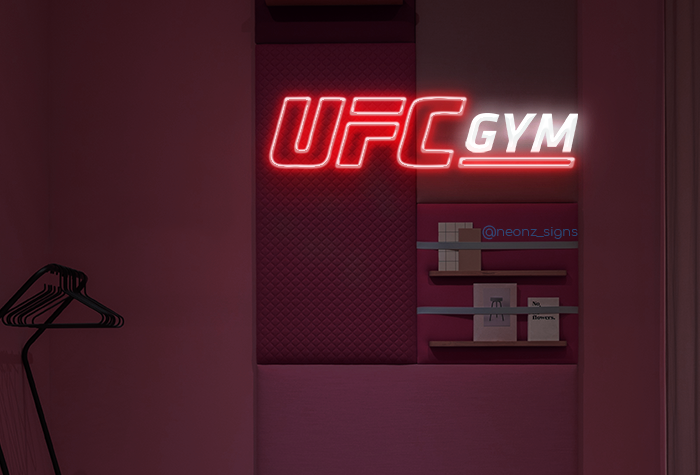 UFC GYM Neon Sign