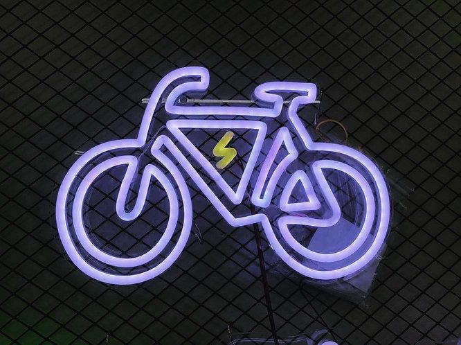 Electric Bike Neon Sign