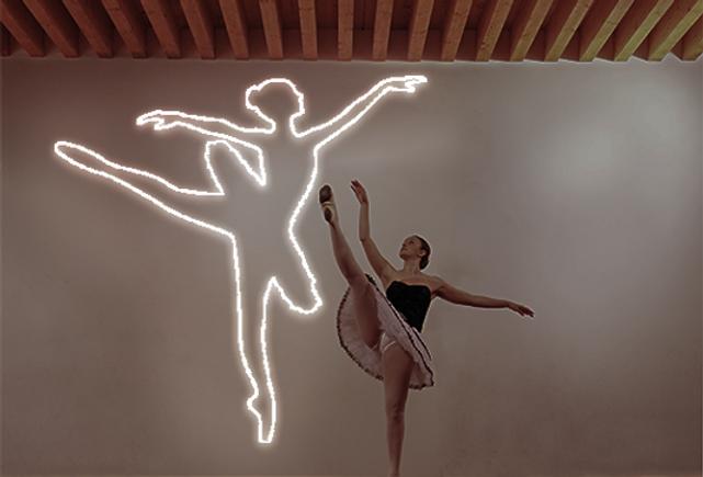 Ballerina Neon Sign