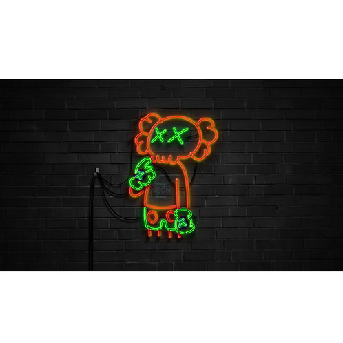 Kaws Led Wall Neon Signs for mancaves