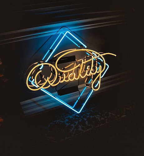 """""""Quality"""" Glass Neon Sign"""