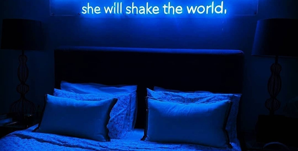 Let her sleep for when she sleeps she will shake the world