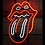 Thumbnail: Rolling Stone Neon Sign | Tongue - Mouth