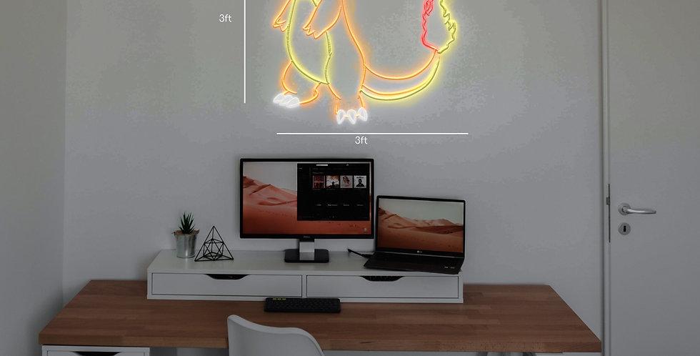 Charmander Neon Sign - 3ft
