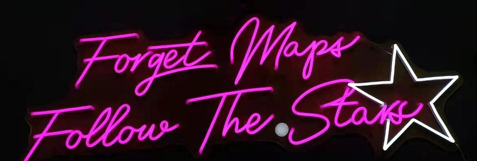 Forget the Map and Follow the stars