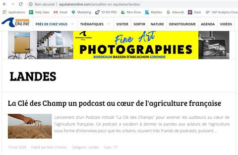 La Clé des Champs, un podcast au coeur de l'agriculture française