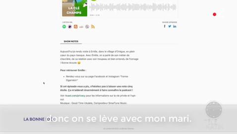 """Passage de """"la Clé des Champs"""" sur Télé-matin"""