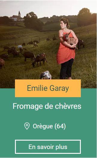 Emilie garay ferme elgarrekin oregue