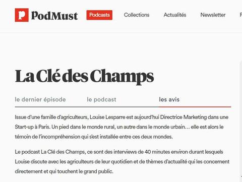 Podmust - La Clé des Champs