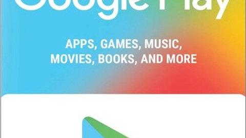 Google Play e-GiftCard