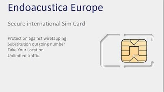 Anonymous International SimCard