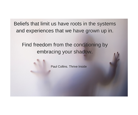 Beliefs that limit us have roots in the