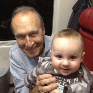 on the way to perform Prokofiev concerto with Claudio Abbado... and Lior