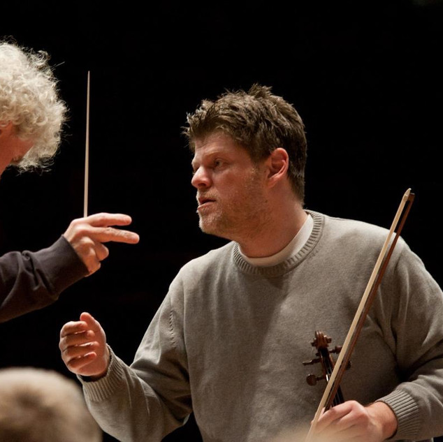 with Sir Simon Rattle