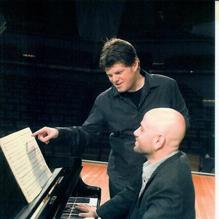 """recording """"the music in my heart"""" with Ohad Ben Ari in Berlin Philharmonie"""