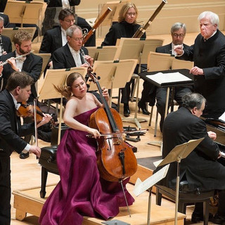 Beethoven triple concerto with Yefim Bronfman and Alisa Weilerstein, conductor Christoph Von Dohnanyi, Boston Symphony
