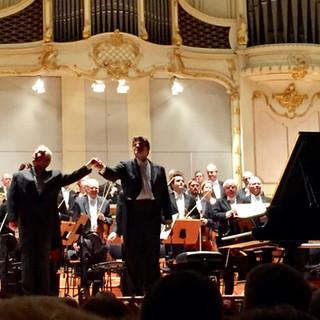 with Maestro Daniel Barenboim