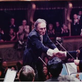 with Maestro Claudio Abbado