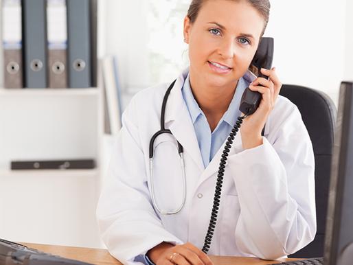 Quantas vezes você deve ligar para um paciente
