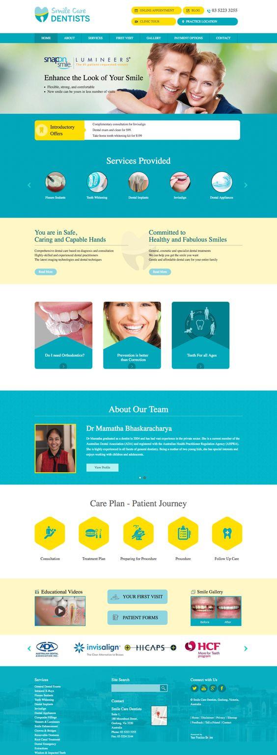 Landing Pages - Captação de pacientes