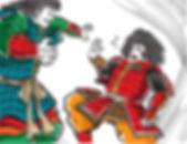 タケミナカタを追い詰めるタケミカヅチ1.jpg