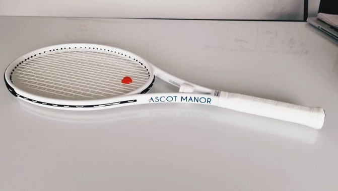 Exclusive Look At The All-New Ascot Manor Tennis Racquet