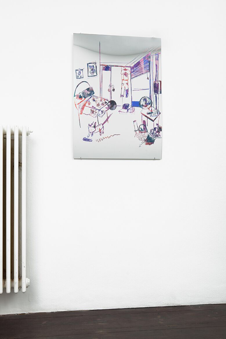 Lauren Elder, Art, Mirror, Paitings