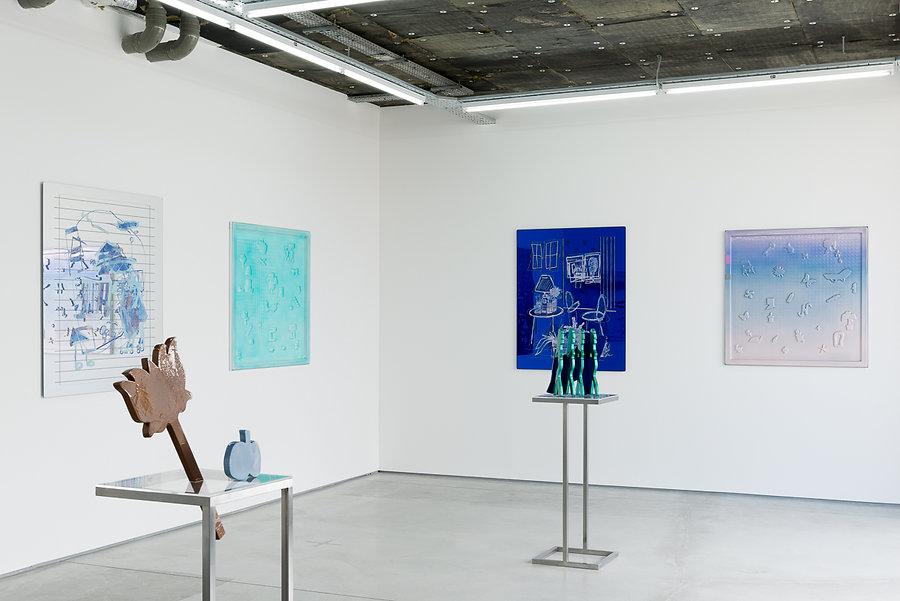Lauren Elder Art, Blue Pacific