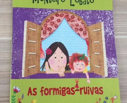 As formigas- ruivas / Monteiro Lobato