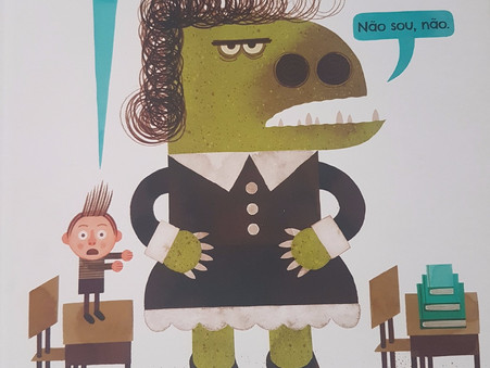 Minha Professora é um Monstro! Não sou não!