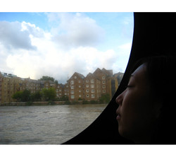 From a Boat on the Thames