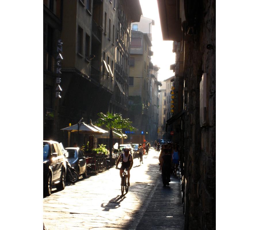 Cyclist, Firenze