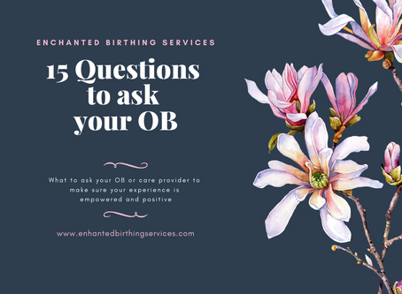 15 Questions to ask your OB