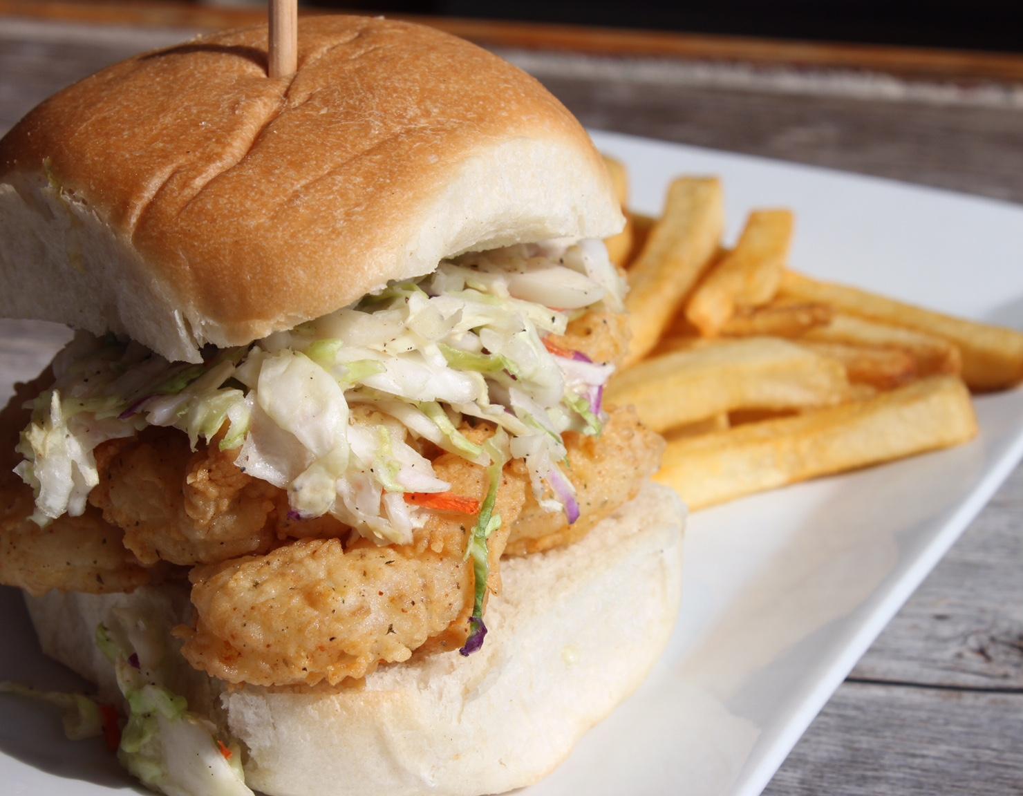 Marisa's Shrimp Sandwich
