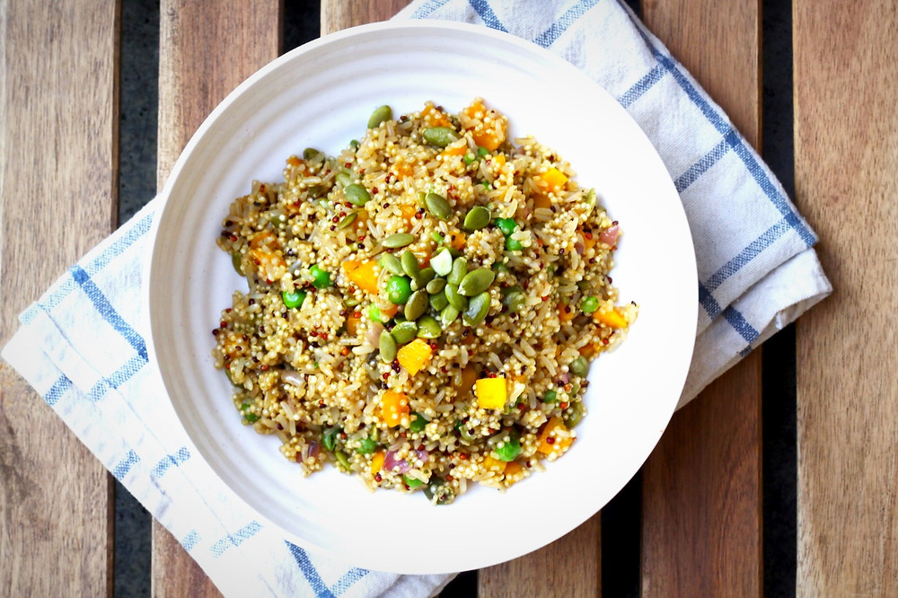 Quinoa Brown Rice