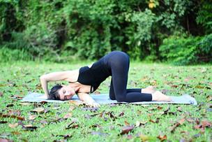 Thread The Needle Pose: Parsva Balasana