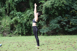Arch Anuvittasana or Standing Backbend