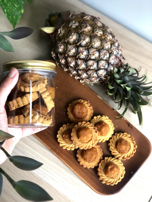 Vegan Pineapple Tarts