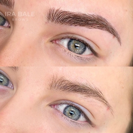 Brow Cosmetic Tattooing and Microblading