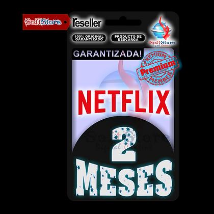 Cuenta Premium NetFlix, 2 meses (1 Dispositivo)
