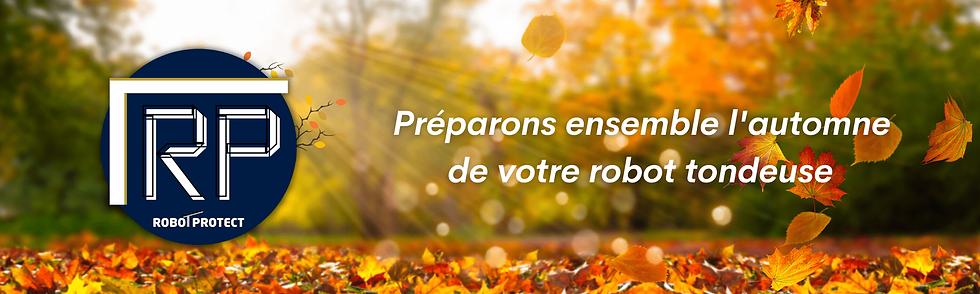 robot protect, abri robot tondeuse préparons l'automne