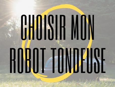 Comment bien choisir son robot tondeuse ?