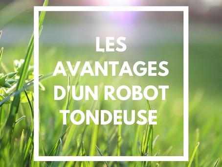 LES AVANTAGES D'UN ROBOT TONDEUSE