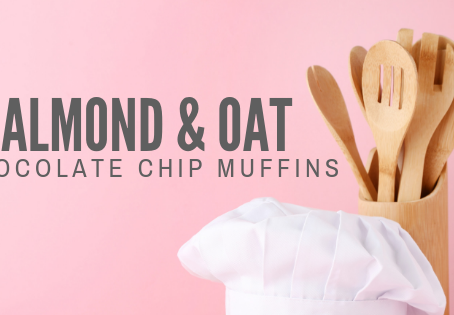 Almond Oat Chocolate Chip Muffins