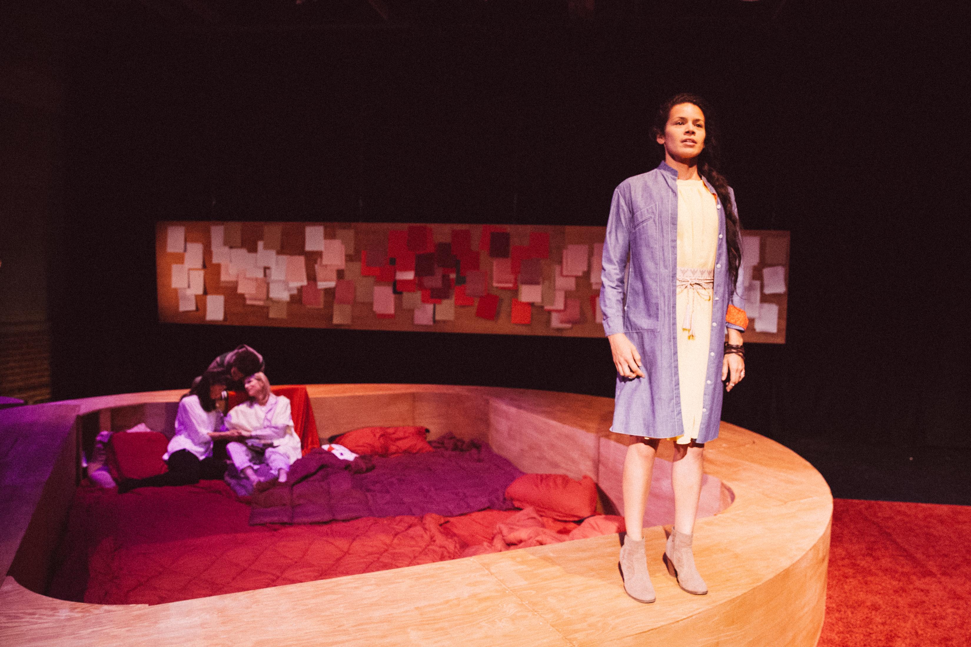 Elizabeth Liang, Mateo Mpinduzi-Mott, Christine Dunford, Joanna Bronson. Photo by Mae Koo