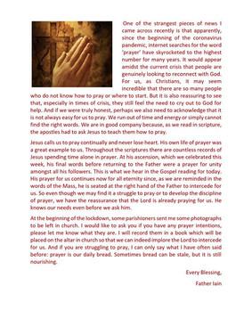 Reflection 24th May
