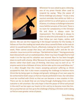 Becoming more Christ-Like